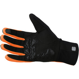 Sportful Essential 2 Cykelhandsker, black/orange sdr